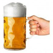 Ölglas i Plast Dubbel Pint - 1-pack
