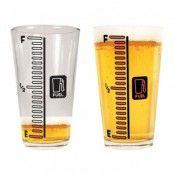 Ölglas med Mätare