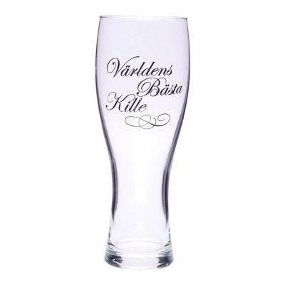 Ölglas Världens Bästa Kille - 1-pack