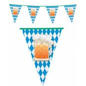6 meter Oktoberfestbanner med Ölsejdel - Beer Party
