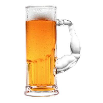 Biceps Ölglas