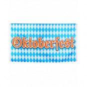 90x150 cm Stort Oktoberfest Banner/Flagga - Beer Party