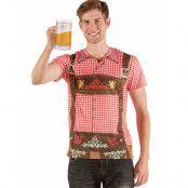 """T-shirt """"Oktoberfest"""" för män"""