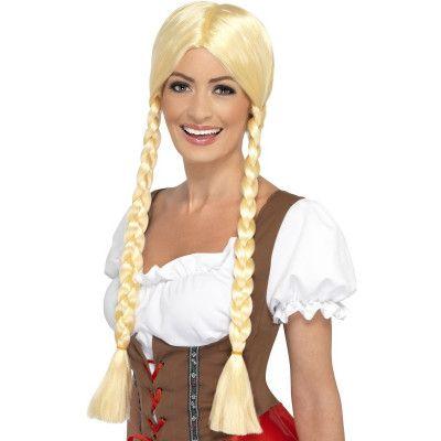 Blond Bayersk Peruk