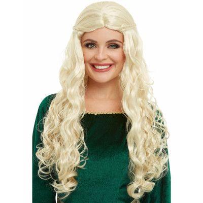 Blond Medeltid / Game of Thrones Khaleesi Peruk