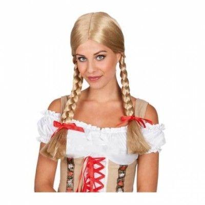 Heidi Blond Peruk - One size