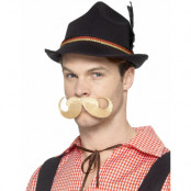 Svart Deluxe Trenker Oktoberfesthatt