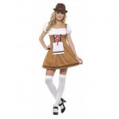 Ölpiga Klänning Maskeraddräkt Oktoberfest