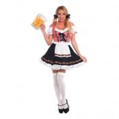 Beer Garden Klänning Deluxe Maskeraddräkt - Large