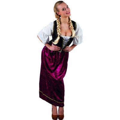 Fin Oktoberfest Kostym till Dam