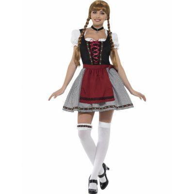 Fraulein Flirt - Oktoberfestdräkt till Dam