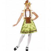 Oktoberfestklänning & Förkläde - Damkostym