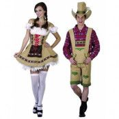 Parkostym - Tyroler Oktoberfestparet