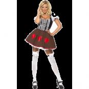 Sexig Heidi Kostym
